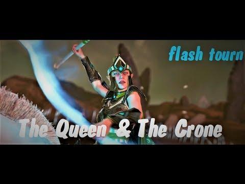 Total War Warhammer 2: The Queen The Crone flash tourn