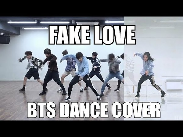 [XTINE] BTS (방탄소년단) - FAKE LOVE Dance Cover (Practice video ver.)