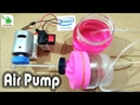 How to Make a Mini Air Compressor/Air pump || Make At your Home