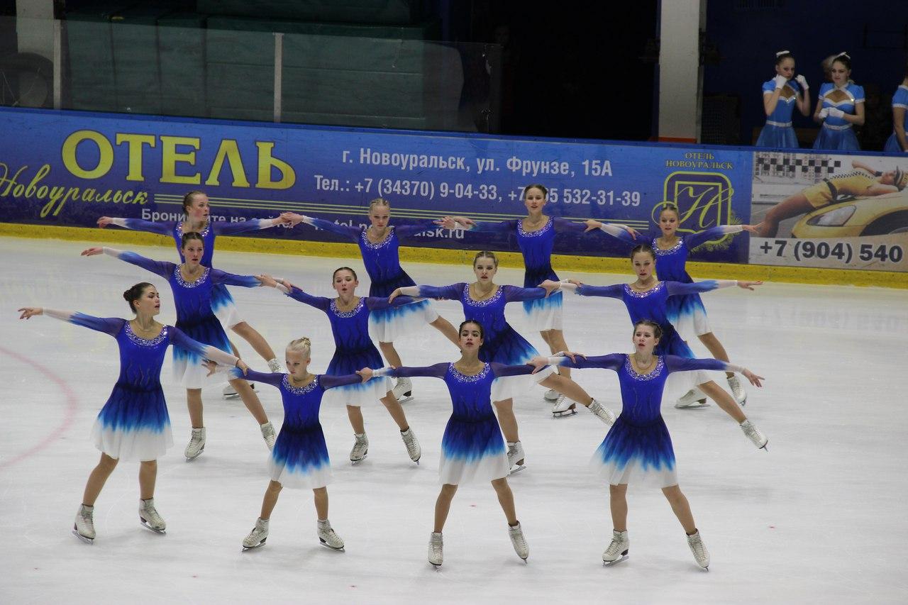 В КСК состоялся Открытый Кубок Урала по синхронному катанию