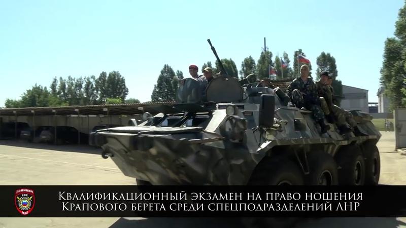 Спецназ ЛНР: «Беркут», СОБР и Краповые береты
