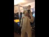 XXXTentacion и его новая пижама-медведь.