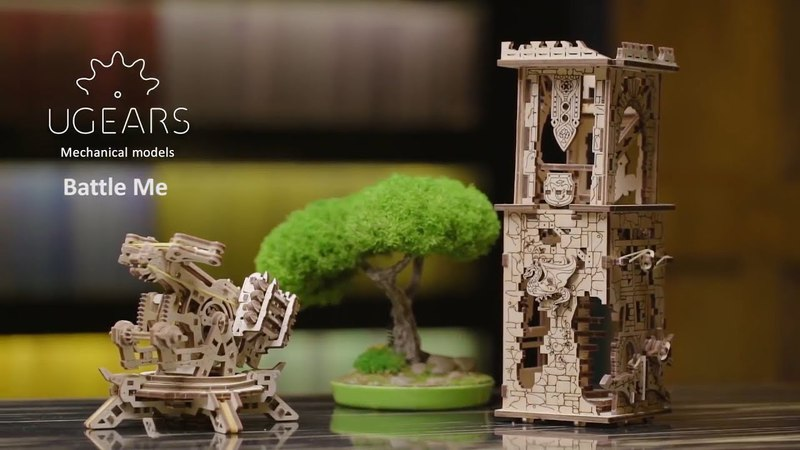 Механический конструктор «Башня-аркбаллиста» от UGEARS
