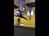Body Fly или Аэройога в «Магис Спорт». Тренер Евгения Соколовская