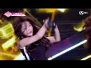 PRODUCE 48 1:1 eye contact | Пак Минджи (MND17) - KARA Mama Mia Team 1 group battle