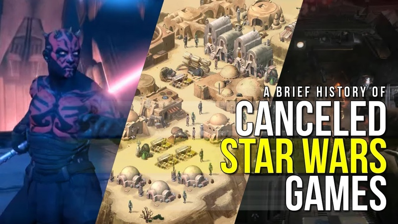 A Brief History of Canceled Star Wars Games