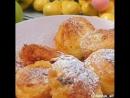 Творожные пончики к чаю Любимые вкусняшки с детства