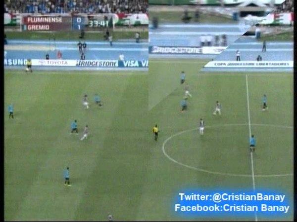 Fluminense 0 Gremio 3 (Radio Gaucha) Copa Libertadores 2013 Los goles