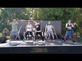 ТААААААААМ!!!!!!ЛОВИМ НОВИНКУ!!!!!!!!Zumba Fitness David Guetta Sia - Flames