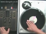 Turntable Tutorial 8 - Mixer Scratch Technique 4 - CHIRP