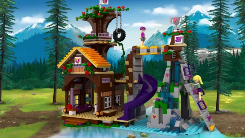 LEGO® Friends 41122 Спортивный лагерь_ дом на дереве