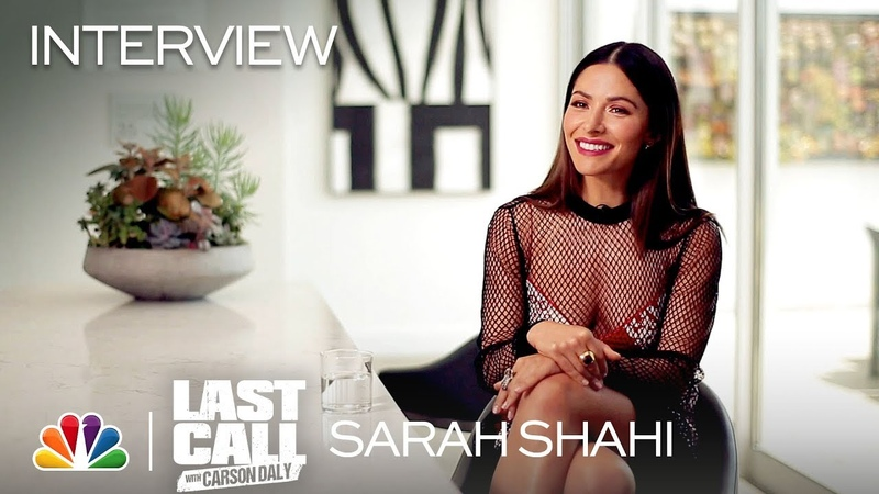 Sarah Shahi Spotlight Last Call with Carson Daly Interview