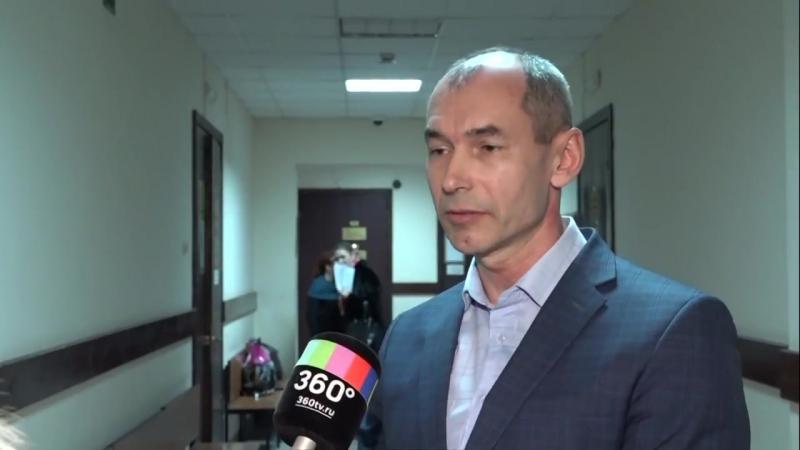 Интервью экс-главы Ногинского района Вадима Рейтера в здании суда