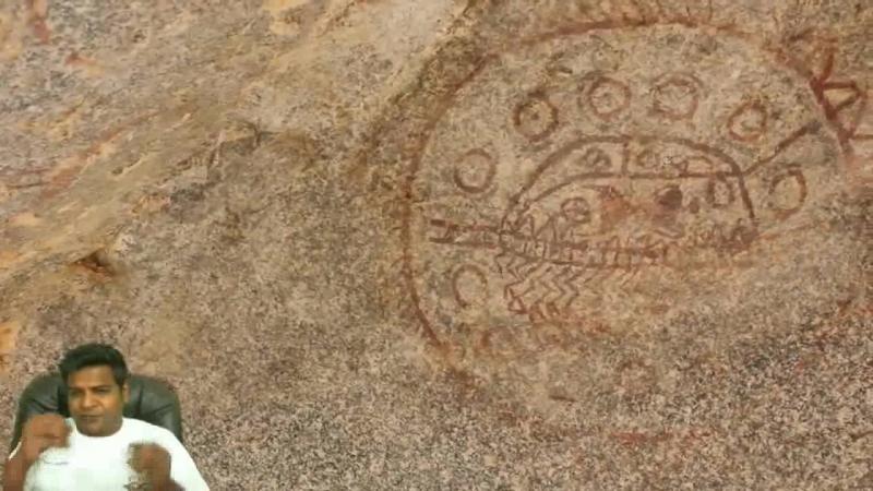 Доказательства древних пришельцев 1 - Наскальные рисунки