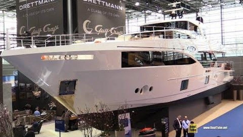 2017 Majesty 100 Luxury Yacht at 2018 Boot Dusseldorf Boat Show