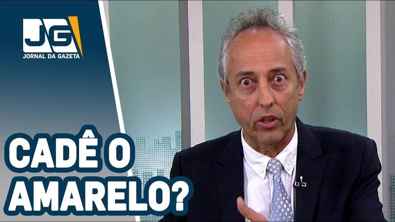 Bob FernandesVai começar a Copa e no Brasil em Transe segue a dúvida cruel... Cadê o amarelo