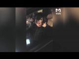 На видео попало задержание певицы из Воронежа Юлии Началовой за странную езду