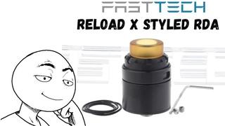 обзор Reload X styled RDA   Fasttech.com