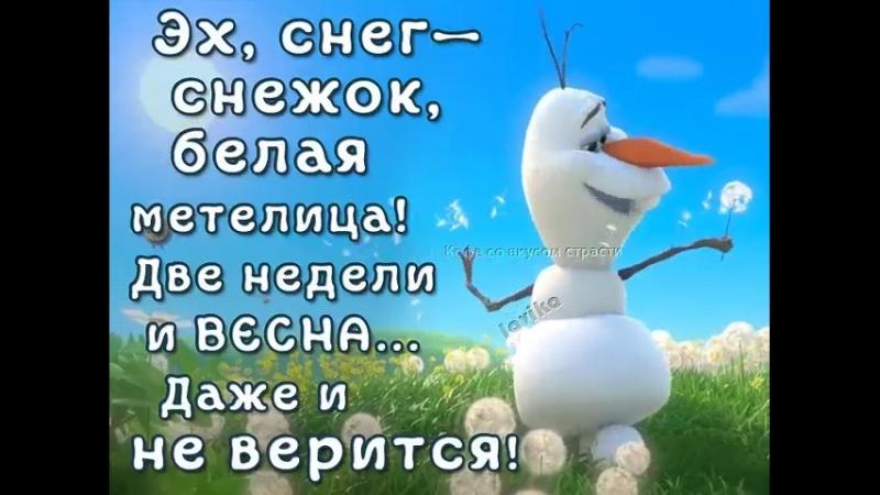Жизнь продолжается, друзья мои! Скоро лето!