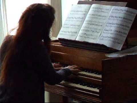 L Daquin Le Coucou Rameau La Villageouse. Clavecin. Harpsichord