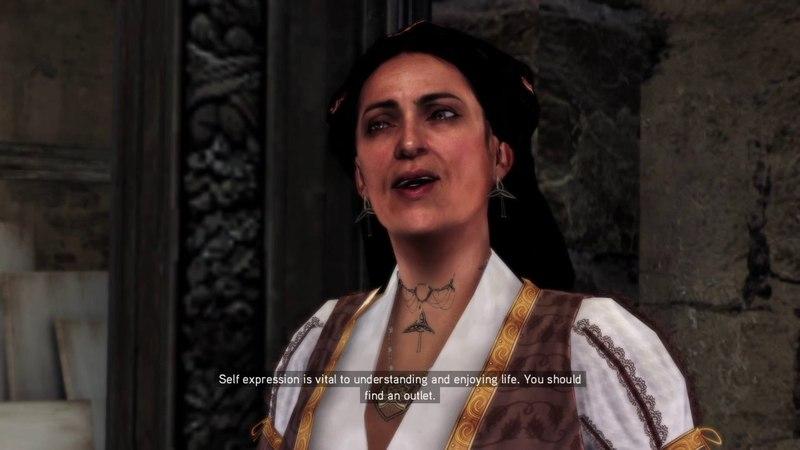 Assassin's Creed II Funny Ezio-Mom Moment!