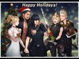 Final Fantasy XV  The Light Of Christmas