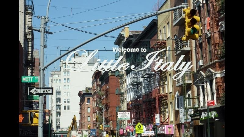 Район Маленькая Италия New York City, Mulberry Street