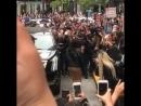 Прибывая на открытие pop up магазина Kylie Cosmetics в Сан Франциско 18 мая 2018