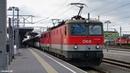 ÖBB 1144 066 1142 673 am EC 164 Transalpin Graz Hbf 4k