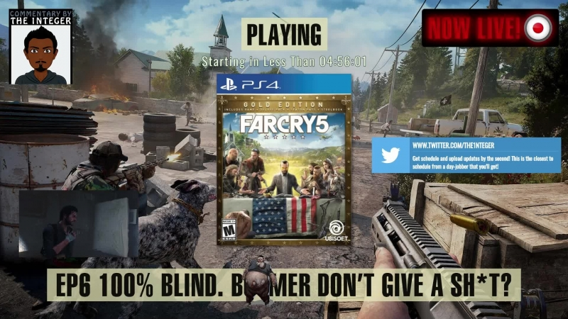 Time for more FarCry5! The community demands it! Honestly, ask Boomer! - EP6 [Tips on request only, thanks much!] 100 Blind. [
