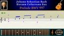 Bach Prelude BWV 997 Guitar | Бах Прелюд BWV 997 Гитара