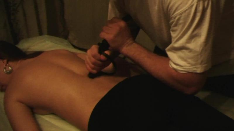 Ладка спины нагайкой. Казачий массаж