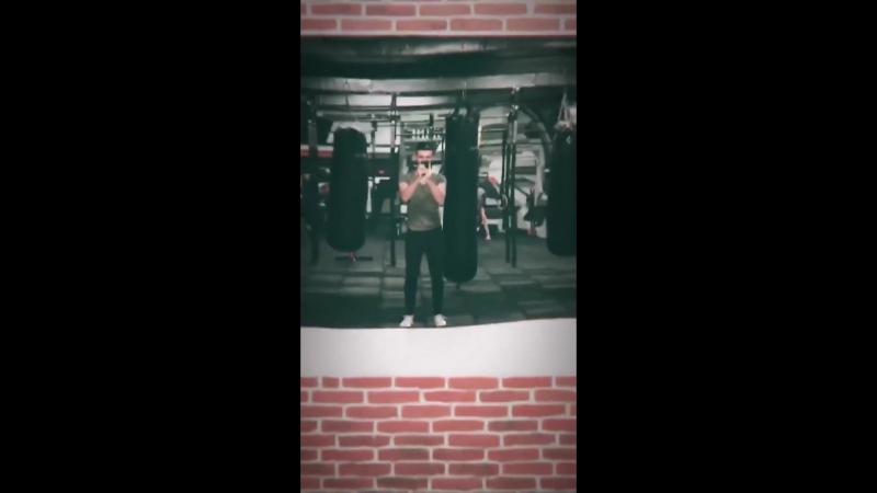 Максим Мацышин: Ну вот и накачался! Instagram Stories 30.11.2017