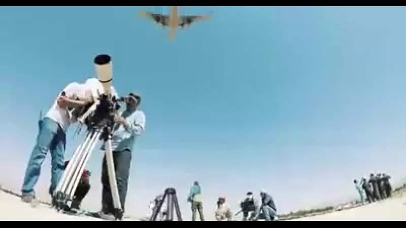 Бэкстейдж со съемок фильма Дамасское время