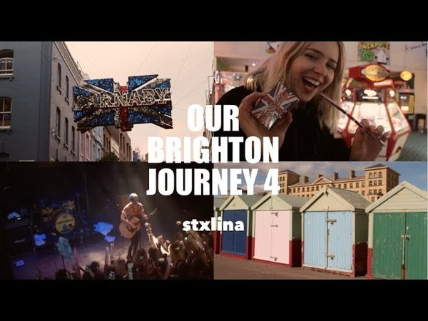 BRIGHTON VLOG 4 | WATERPARKS CONCERT GETTING ATTACKED BY SEAGULLS | stxlina
