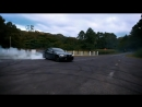 BMW M3 E92 w Armytrix Exhaust Massive Burnout Drift and Insane Noise