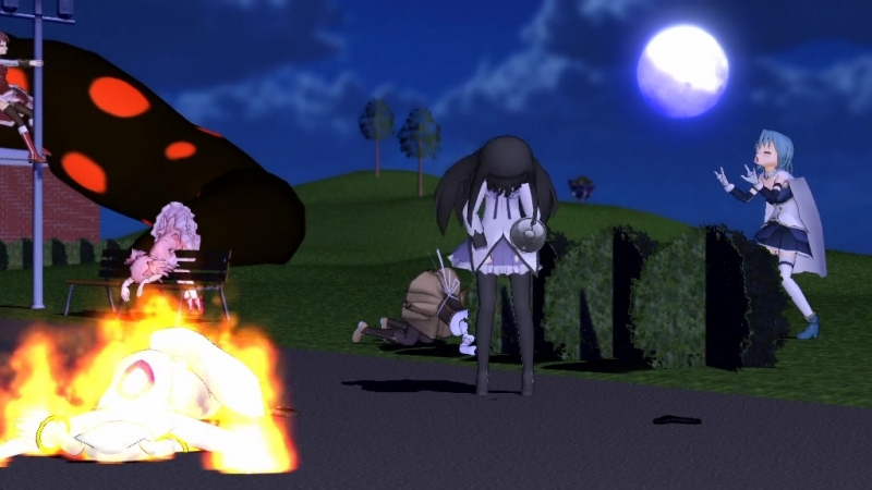 MMD Go home Homura, you are drunk