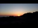 скоротечный закат на Черном море