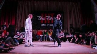 Hit The Floor vol.3 hip-hop pro 1/2 Plasteed(win) vs Kobee