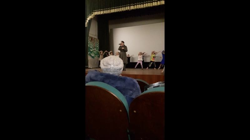 репетиция к дню танца зима 2017-2018