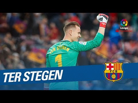 Ter Stegen Best Saves LaLiga Santander 2017 2018