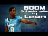 TOP 10 Monster 3rd meter spikes by Wilfredo Leon. BOOM 3rd meter spike.