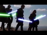 Игра престолов со световыми мечами/Tower of Joy - Jedi Battle (Game of Thrones + Star Wars)