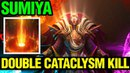 Double Cataclysm Kill! - SUMIYA INVOKER 7.13 - Dota 2
