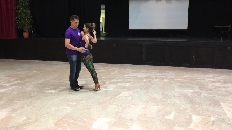 Spai Carioca 2017. Fabiano Vivas and Kely Reis - dancando com elastico