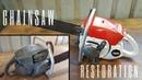 Seized 1960s Chainsaw Restoration