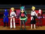 (MMD) Hatsune Miku - Ninjari Bang Bang