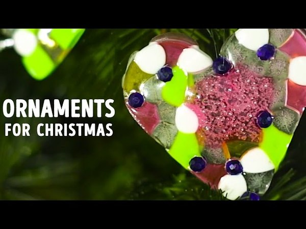Holiday ornaments that take next to no time to make! l 5-MINUTE CRAFTS