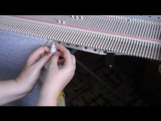 Как быстро перенести петли на иглу или спицу.mp4
