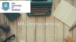 MA Creative Writing - School of English - University of Sheffield